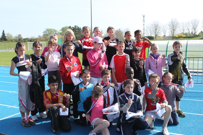 Les gagnants du cross 2011